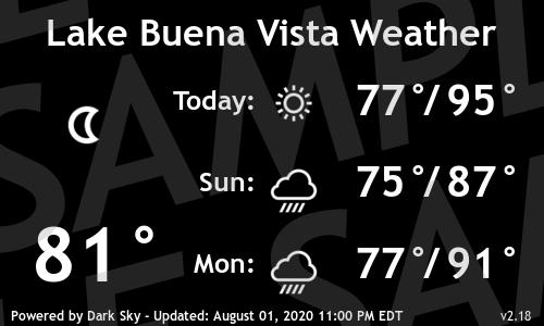Digital Signage Weather MA07